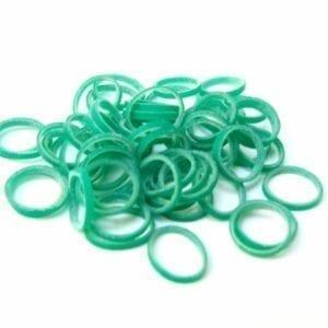 Ortho Elastiekjes groen 100st.
