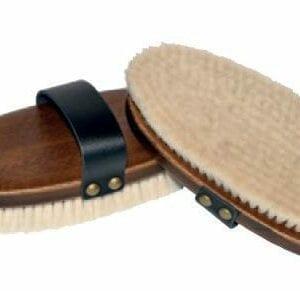 Paardenborstel - body brush - pure geitenhaar - FSI 100%
