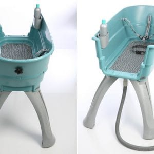 Booster Bath Large Adjustable Feet 114x24x75 cm.