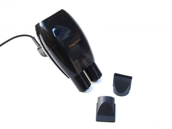 Doggy Groom Handdroger 2000 watt met dubbele uitlaat.