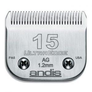 Andis Scheerk. Size 15 (1 mm.)