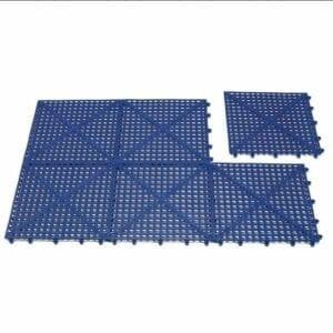 Rooster Kunststof 6 tegels 30 x 30 Blauw