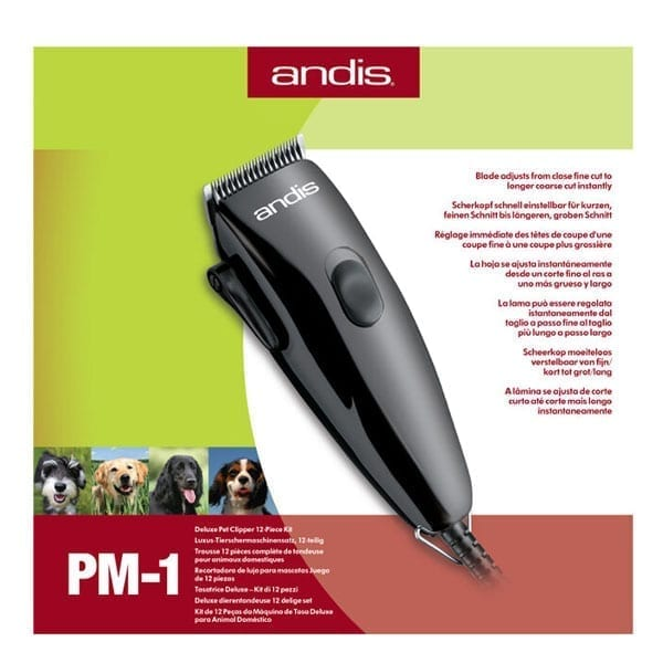 Andis Deluxe Pet Clipper Kit 1420000