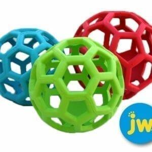 JW Hol-ee Roller Size 3.5'' - 9 cm.(3 stuks Ro-BL-Gr)