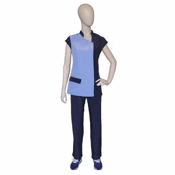 Vest Brigitte Blue blue L