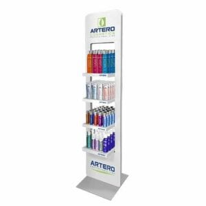 Artero Stand Display met Producten
